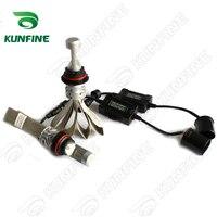 12V 24V 72W Car LED Headlights High Low 9007 Bulb Car Fog Lamp Track HeadLight Lamp