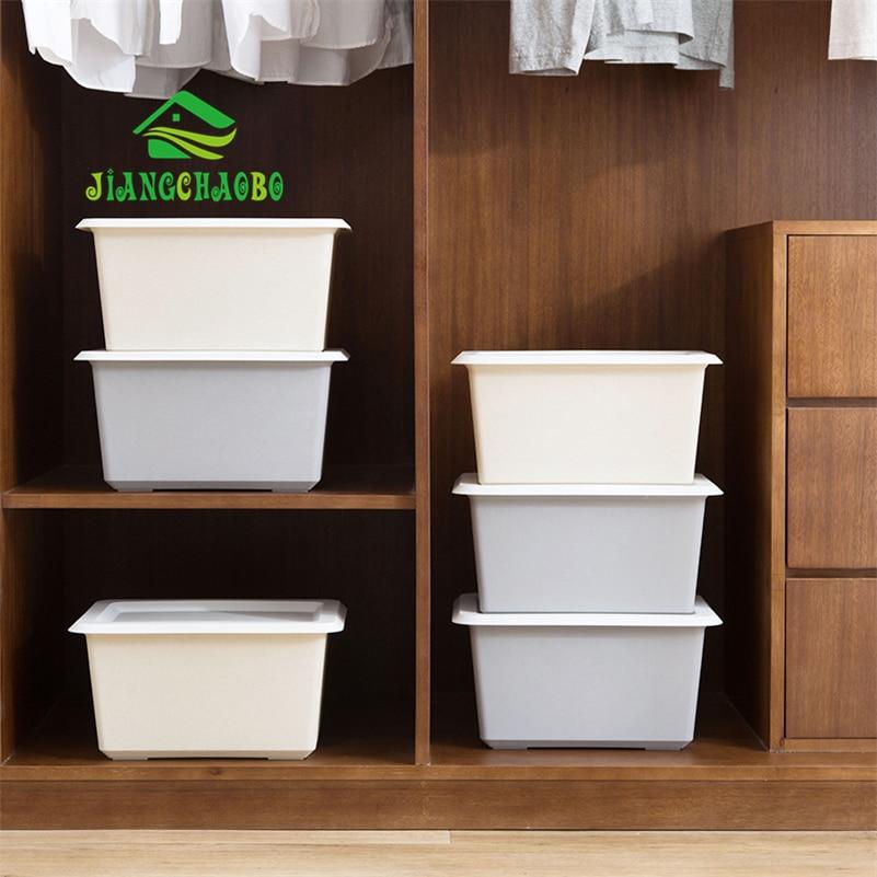 Jiangchaobo Plain Color Plastic Storage