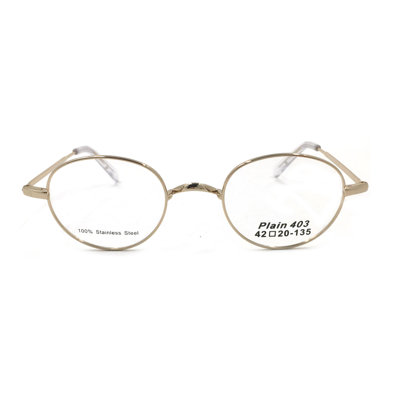 5271b3dd3d1 Laura Fairy Brand Designer Retro Round Glasses Frames Women Men 3 Size Gold  Color Stainless Steel Optical Frame-in Eyewear Frames from Apparel  Accessories ...