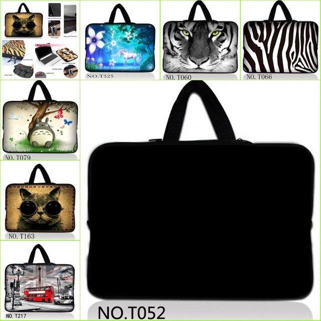 HD custom printing waterproof laptop sleeve notebook bag +Hide Handle 10 10.1 11 12 13 14 15.6 17 inch for macbook air hp dell