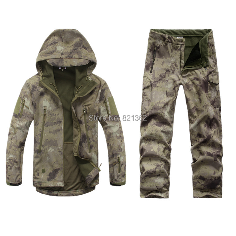 Outdoor Camo Hunting Clothes Breathable Hiking Ruins Camo Clothing Waterproof Hunting Suits mares camo brown page 10