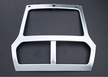 ABS Interior GPS Middle  Dashboard Console Frame Cover Trim  1pcs   For  Ford Explorer  2011 2012 2013 2014