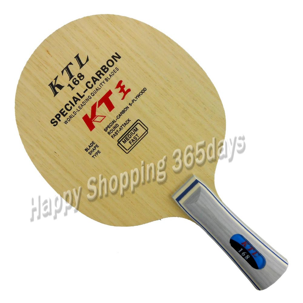 KTL 168 SPECIAL-CARBON Fast Attack table tennis blade for racket ping pong paddle batKTL 168 SPECIAL-CARBON Fast Attack table tennis blade for racket ping pong paddle bat