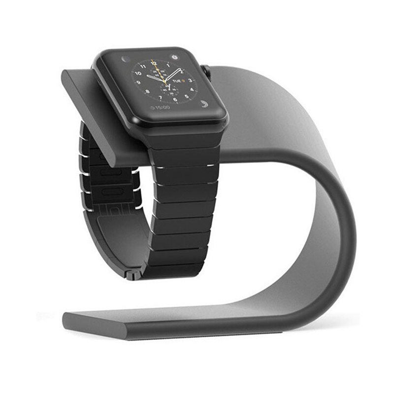 Desktop Charging Holder Aluminum Charger Stand Dock Station Bracket for Apple Watch iWatch