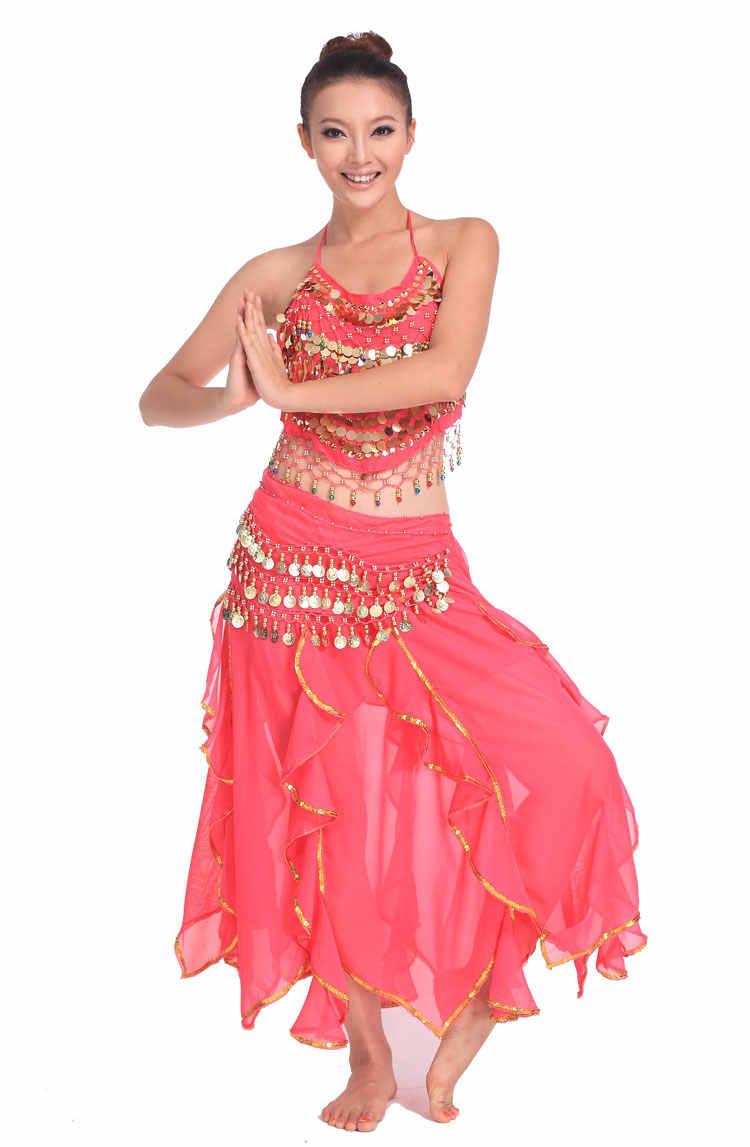 3 stücke Set Ägypten Leistung Bauchtanz Kostüm Frau, Indische Triba Gypsy Kostüm Frau Bellydance Frauen Bauchtanz Kostüm