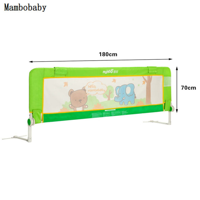 Source Online Shop Baby Bed Safety Rails Guard Heightening Fence