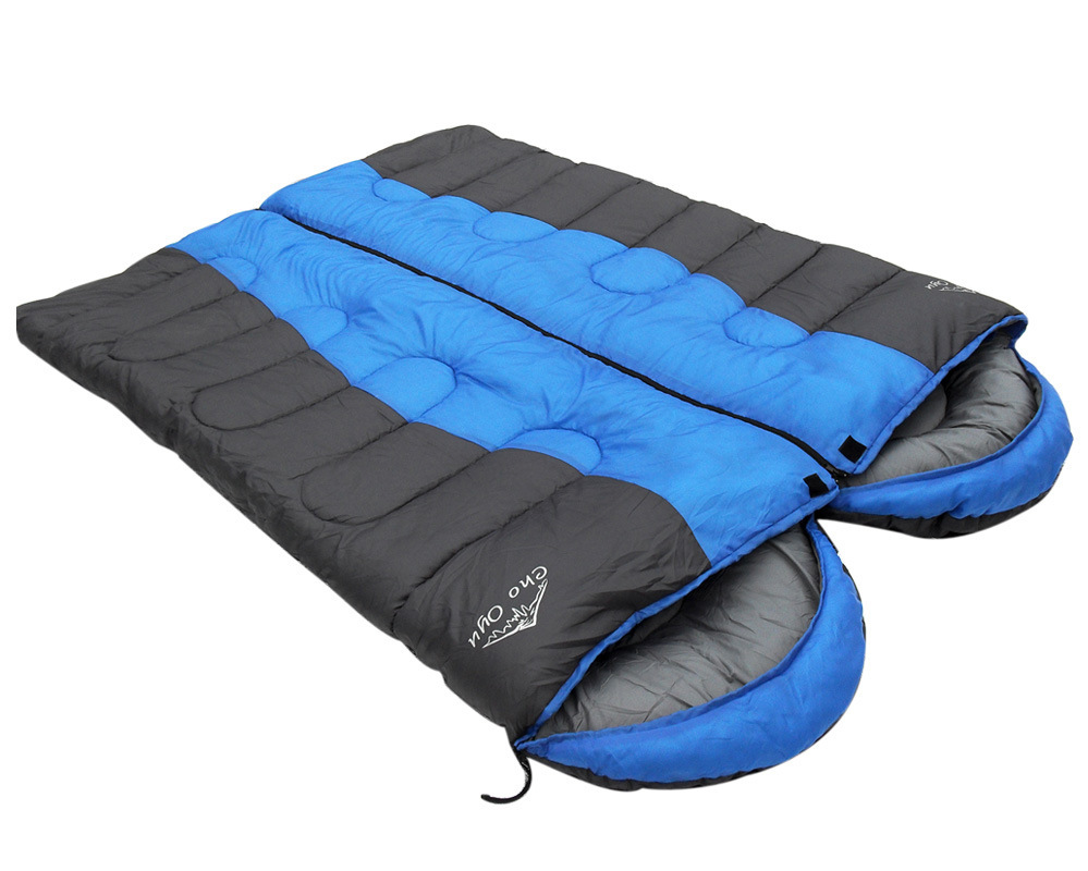 Winter Sleeping Bags 220x75cm Splicing Double Bag 15 10c Degree Super Thick Camping Outdoor Envelope In From Sports