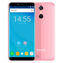 OUKITEL C8 Original 3G Phablet 5,5 Zoll Arc Bildschirm Android 7,0 MTK6580A Quad Core 16 GB ROM Fingerabdruck-scanner 8.0MP Hintere kamera