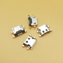1000 個マイクロ Usb のための 7040N 充電ポートドックソケットレノボ A708t S890 Huawei 社 G7 G7 TL00 充電コネクタ