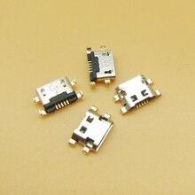 1000PCS Micro Usb Voor Alcatel 7040N Lading Poort Dock Aansluiting Voor Lenovo A708t S890 Voor Huawei G7 G7 TL00 Opladen connector