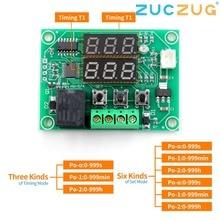 XH W1219 Dc 12V Dual Led Digitale Display Thermostaat Temperatuurregelaar Regulator Schakelaar Controle Relais Ntc Sensor Module