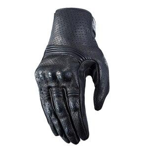 Image 3 - Nuoxintr oddychające rękawice motocyklowe skóra pełna osłona palca rękawice motocrossowe Downhill jazda na rowerze rękawice wyścigowe
