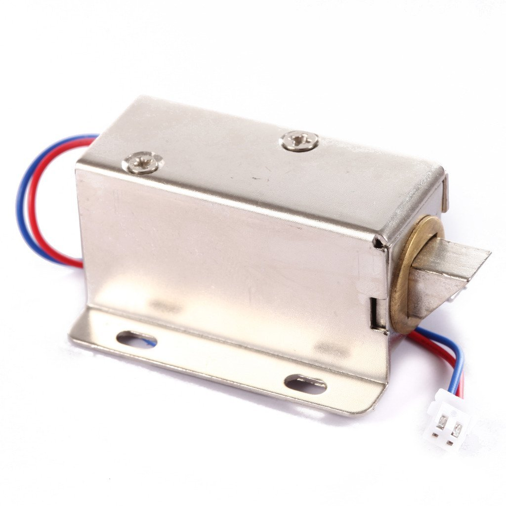 OBO HANDS DC12V File Display Cabinet Drawer Latch Assembly Solenoid Electric Lock jd 57 1 14 truck head latch assembly