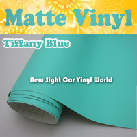 High Quality Matte Mint Green Car Vinyl Wrap Air Free Blubble For Car Stickers And Decals