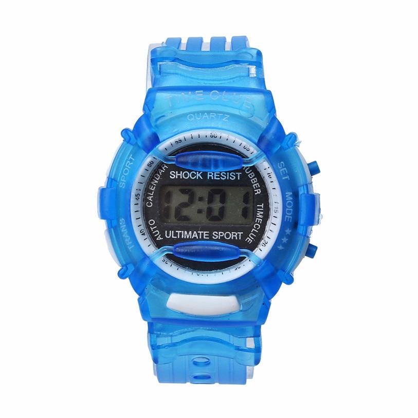 Superior Boys Girls Children Students Waterproof Digital Wrist Sport Watch Relogio Nov 8