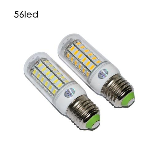 E27 SMD5730 LED Corn Lamps 56 Led  LED Bulb Light  18w Wall Downlight Pendant High Bright Corn Led Light Lamp Trpe E27 Corn Lamp