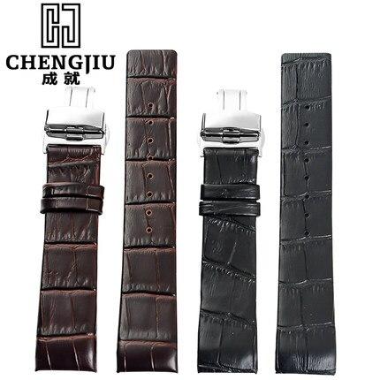 Heißer verkauf echte kalbsleder armband für ck calvin klein k2k21402 k2k21620 21120...