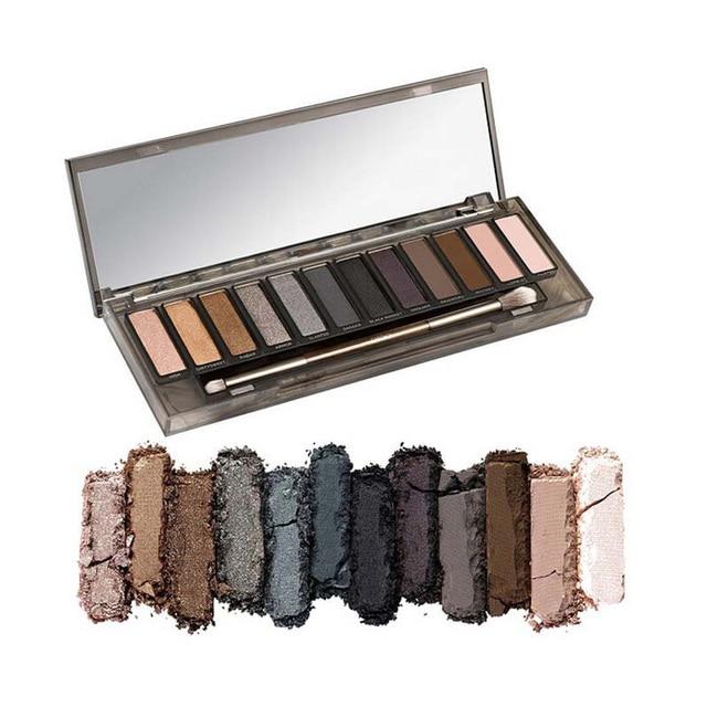 Nueva Marca de Maquillaje AHUMADO paleta de sombra de ojos 12 colores de sombra de ojos de alta calidad cosméticos maquiagem