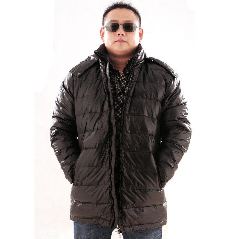 Nuovo arrivo a medio lungo ispessimento giù cappotto extra large grandi Uomini giacca più il formato XL 5XL 6XL 7XL 8XL 9XL 10XL 11XL 12XL 13XL-in Giubbotti di piumino da Abbigliamento da uomo su  Gruppo 1