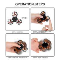 LeadingStar Mini Fidget Spinner Hand Flying Spinning Top Autism Anxiety Stress Release Toy Great Funny Gift Toys For Children 4