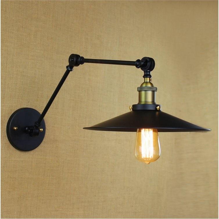 New Lamp Industrial Loft Swing Arm Wall Sconce Retro ...
