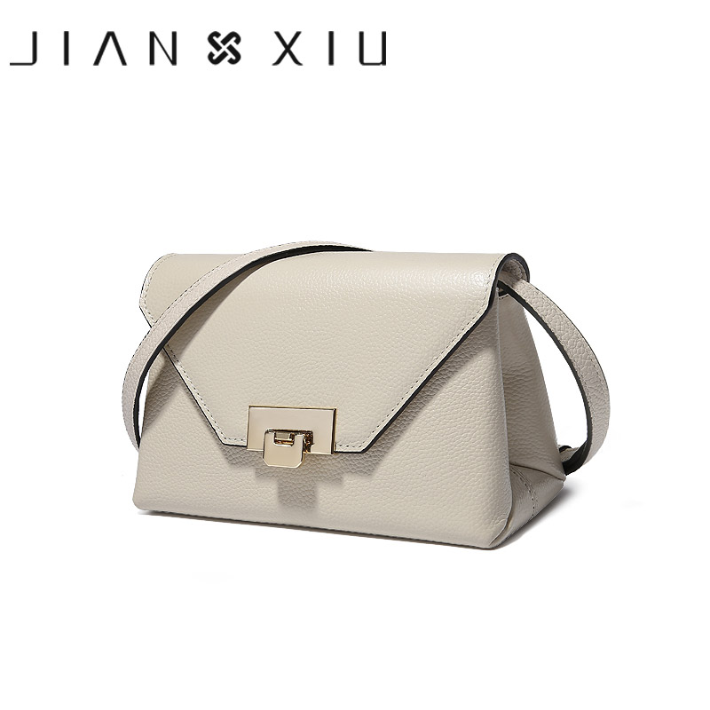 JIANXIU Designer Bags Famous Brand Women Messenger Bags Genuine Leather Bag Shoulder Crossbody Bags For Women