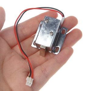 Image 5 - Electronic Lock Catch Door Gate 12V 0.4A Release Assembly Solenoid Access Control 10166