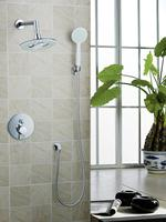 Ouboni Shower Set Torneira New Design 8 Shower Head Bathroom Rainfall 50230 419A Bath Tub Chrome