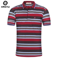 Men Classic Striped Polo Shirt Short Sleeve Poloshirt Men's Colorful Striped Polo Shirt 2016 Summer Plus Size Free Shipping