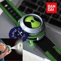 BAN DAI Подлинная бен 10 omnitrix часы Стиль Дети Проектор часы Япония Подлинная Бен 10 проектор childredn часы подарок для дети