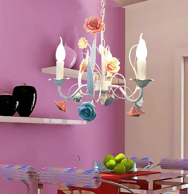 Aliexpress Buy New design 3 arms rustic chandeliers modern – Rose Chandelier