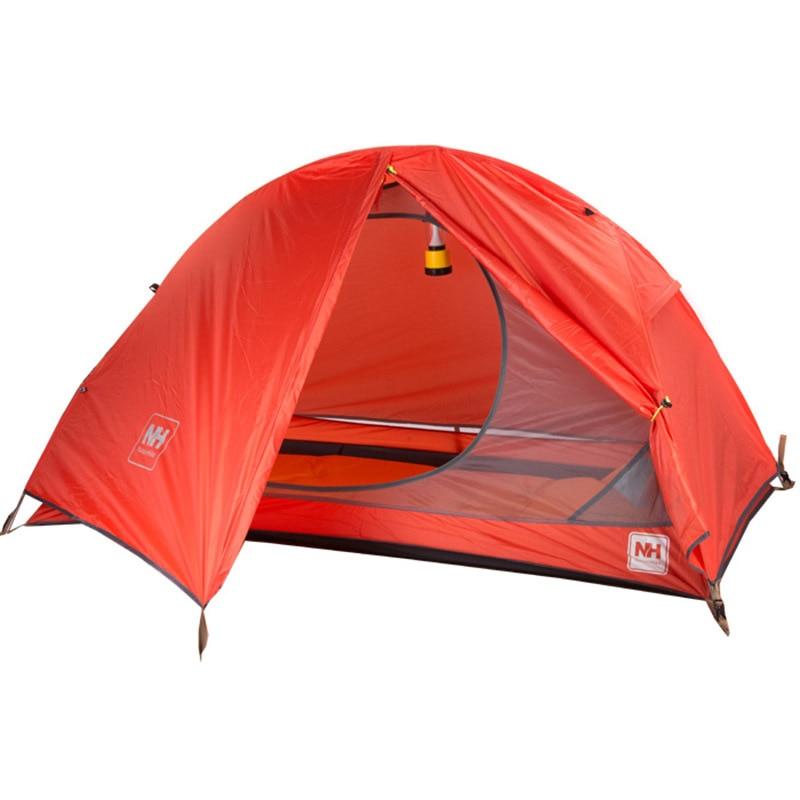 Nature randonnée vélo sac à dos tente ultralégère 20D/210 T pour 1 personne NH18A095-D - 4