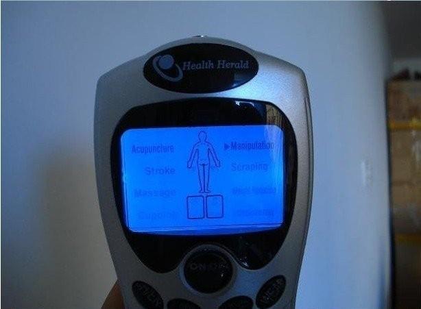 рождеством хорошее качество десятки иглоукалывание цифровая терапия машина массажер
