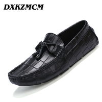 2016 Men Flats Shoes Hand Made Breathable Men Casual Shoes Slip On Mocassins Men Loafers