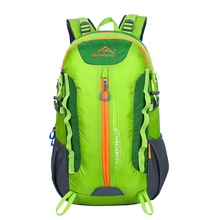 Professional carrying bag mountaineering backpack wear tear Travel backpack male bag