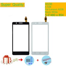 Original For Lenovo A536 A 536 A358 Touch Screen Digitizer Touch Panel Sensor Front Outer Glass Lens A358T Touchscreen NO LCD grassroot 15 6 inch touch screen digitizer glass front panel for lenovo flex3 15 without lcd