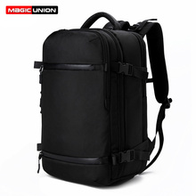 MAGIC UNION Men Travel Backpack Women Luggage Backpack USB 20 inch Large Capacity Multifunction Waterproof Male Laptop Backpack цена 2017