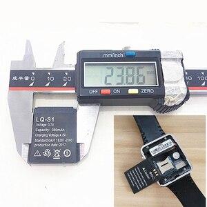 Image 5 - 3 шт./лот 3,7 в 380 мАч перезаряжаемая батарея для умных часов dz09, аккумулятор для умных часов, оптовая продажа