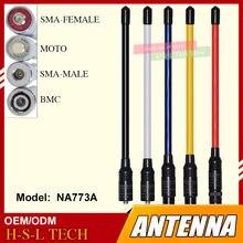 Антенна для рации sma/bnc/moto 144 МГц 430