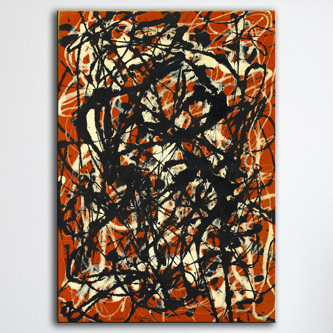 Jackson pollock paintings reviews online shopping for Mural jackson pollock