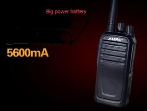 Image 3 - VHF هام راديو JP 1000 اسلكية تخاطب قوية 5600mAh بطارية في الهواء الطلق لمسافات طويلة الصيد اسلكية تخاطب 10 كجم