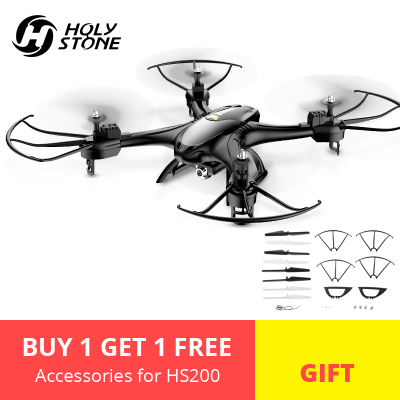 [EU USA Stock] Holy Stone HS200 Drone Wifi FPV Video 720P Camera HD RC Drone Quadcopter Altitude Hold Flips Headless Mode Black[EU USA Stock] Holy Stone HS200 Drone Wifi FPV Video 720P Camera HD RC Drone Quadcopter Altitude Hold Flips Headless Mode Black