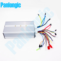 Panlongic 48 64V 2000W 2KW Electric Bicycle E bike Scooter Brushless Controller Hub Motor BLDC Motor Controller 24 MOFSETs