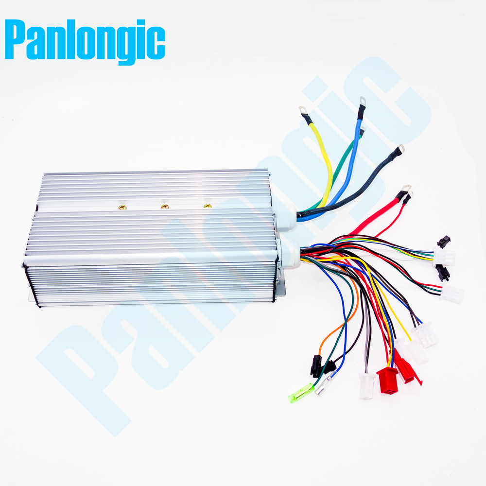 Panlongic 48-64V 2000W <font><b>2KW</b></font> Electric Bicycle E-bike Scooter Brushless Controller Hub <font><b>Motor</b></font> BLDC <font><b>Motor</b></font> Controller 24 MOFSETs image