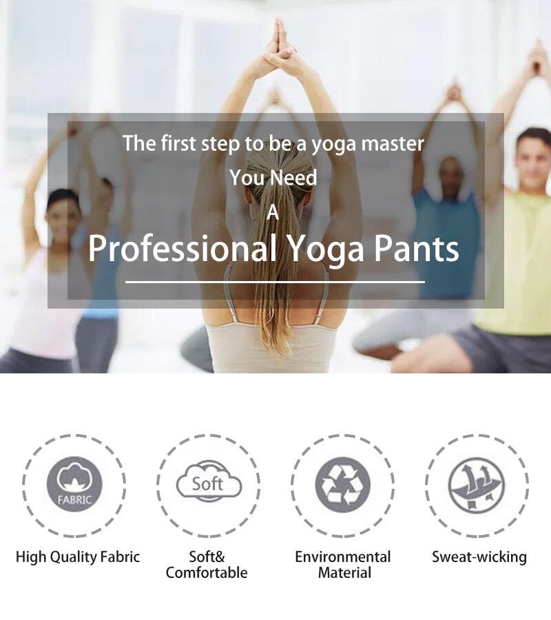 Leggings Yoga DA UE com Bolsos Esporte