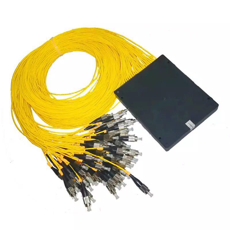 Séparateur optique de PLC de Fiber de boîte d'abs 1x8 connecteur de FC/UPC 2.0mm