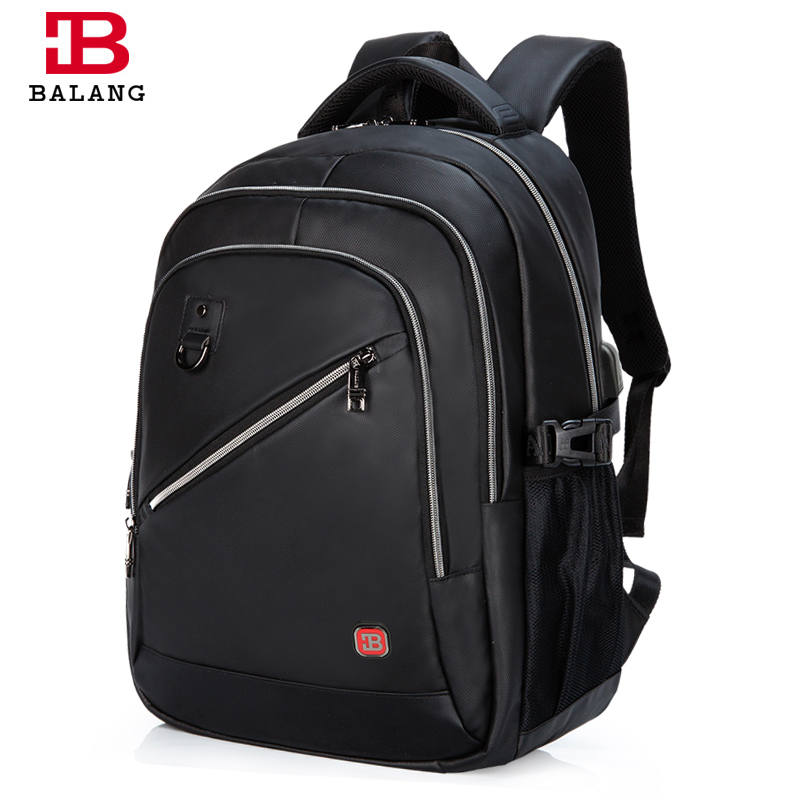 BaLang Brand Design Men's Travel Bags Fashion Laptop Backpacks Men Waterproof Oxford School Backpack Multifunction Shoulder Bag go meetting fashion women waterproof oxford backpack famous designers brand shoulder bag leisure travel backpacks for girl