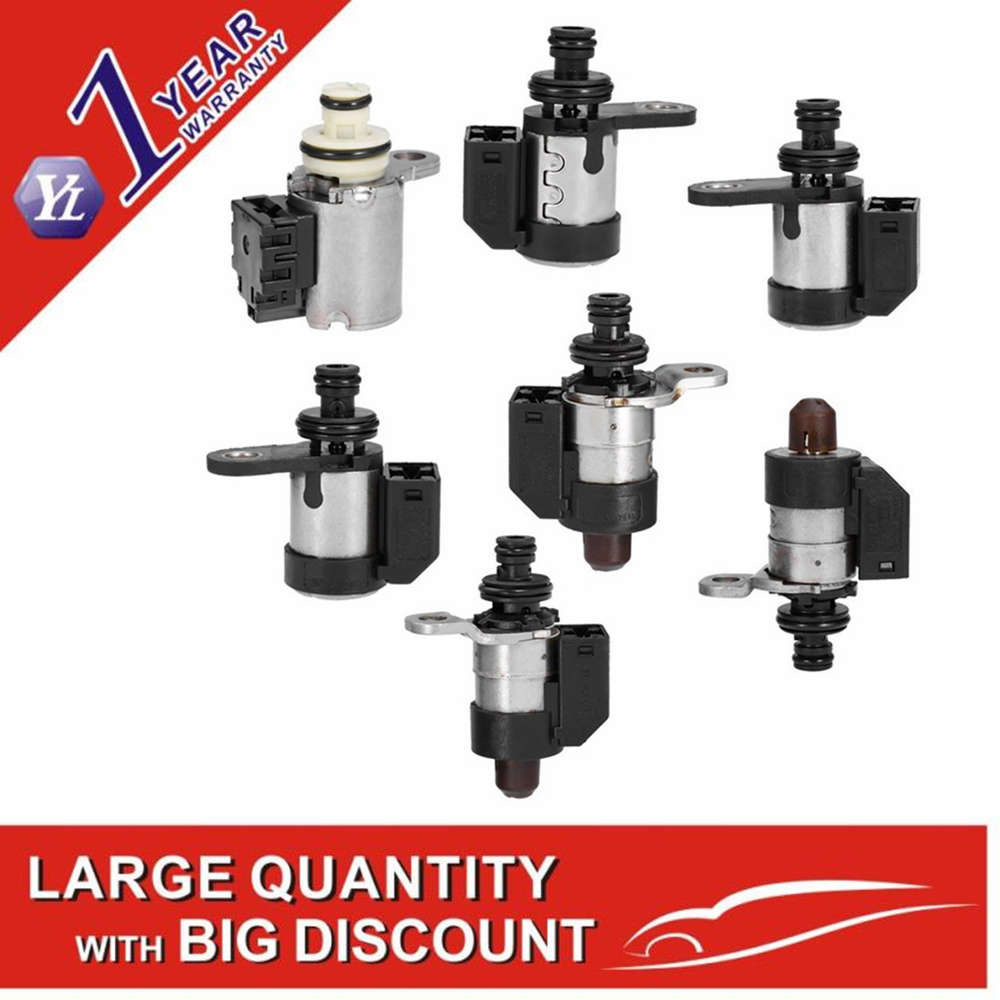 RE5R05A A5SR1 2 shift Solenoids Kit 7PC case For Infinity G35 fx 35 original used 31941