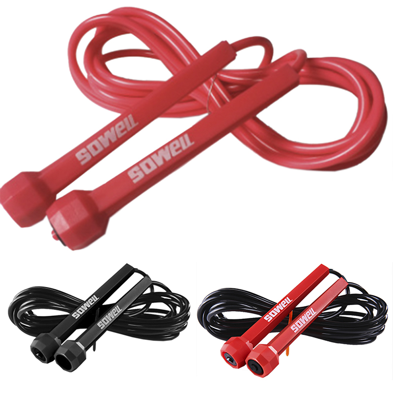 Professional Speed Jumping Rope Technical Jump Rope Training Speed Fitness Adult Sports Skipping RopeCrossfit Comba Springtouw(China)