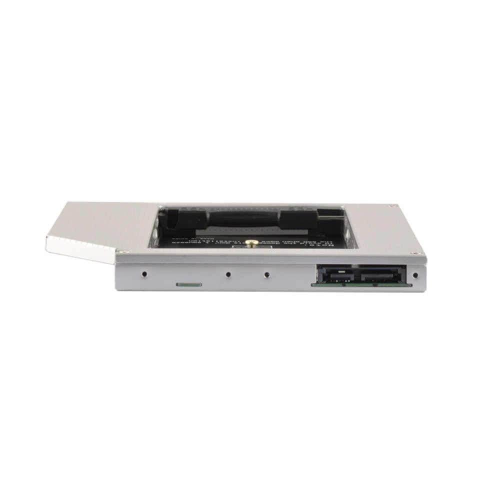 DeepFox 2nd HDD Caddy 9,5 mt SATA zu mSATA 3,0 SSD Fall HDD Festplatte Fall DVD/CD-ROM Optische bay Für Laptop